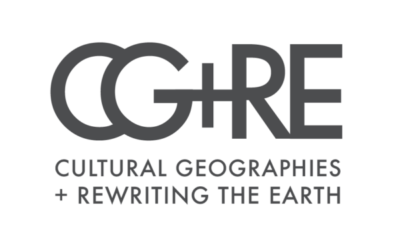 Cultural Geographies + Rewriting the Earth